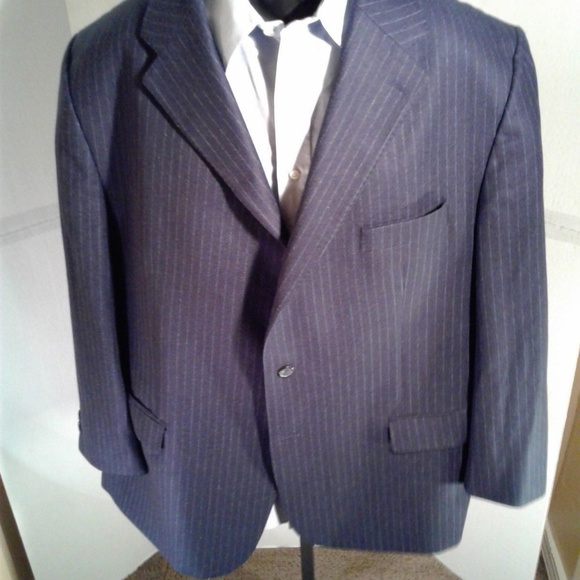 c63c0e6ac Hugo Boss Suits & Blazers | Mens Blue Blazer Size 52 L | Poshmark